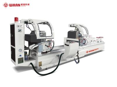 铝塑型材数显双头精密切割锯(气缸内置-主轴电机)LJZ2X-450×3700A