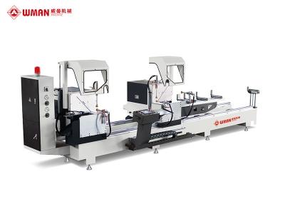 铝型材45°专用数控双头切割锯(外摆)LZXJ-CNC-550×4200W