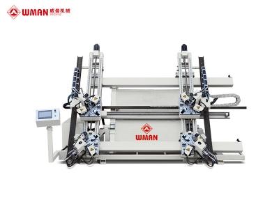 铝门窗数控四头组角机LM4S-100×2200×3000