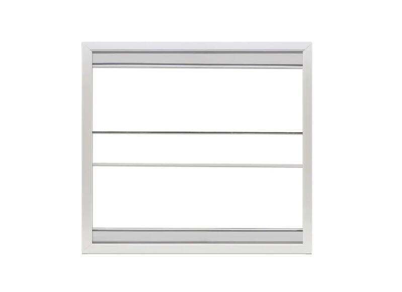方形简单断桥铝门窗